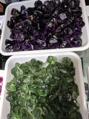 amethyst and prasiolite